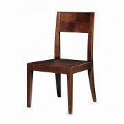 Modern wooden coffee oak dining chair from China (mainland)