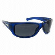 Ladies' Sports Plastic Sunglasses