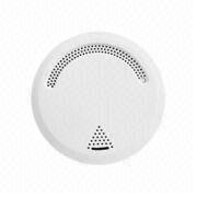 Wireless/Wired Smoke Detector, Less Than 10mA Static Current with 9 to 15V DC Power