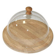 Bamboo Dome cheese serving tray set from China (mainland)