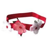2014 fashion new born babies' flower elastic headband from China (mainland)