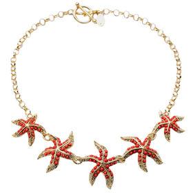 China Fancy Starfish Pattern Necklace