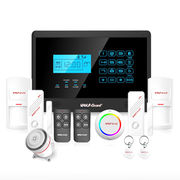 China LCD Screen Wireless Home Alarm System / Real Time