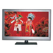 15.4-inch LCD TV, metal look casing