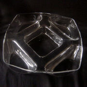 Clear Glass Salad Bowl from China (mainland)