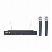 Dual-channel VHF Wireless Microphone from China (mainland)