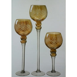 Glass Candle Holders from China (mainland)