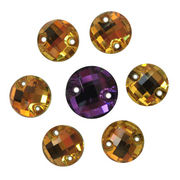 Sew on Clothes Button Decorative Stone Rhinestone Fancy Crystal Beads from China (mainland)