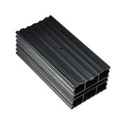 Anodizing black exyrusion heat sink