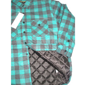 Men's flannel padded jacket from China (mainland)