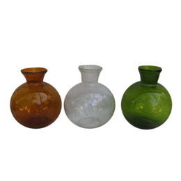 Sprayed Colors Glass Vases from China (mainland)