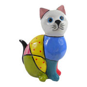 Ceramic Cat Ornament from China (mainland)