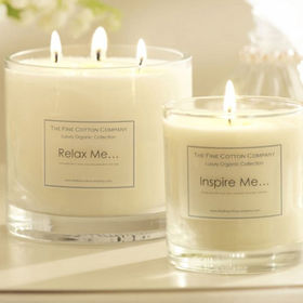 Three wicks scented soy wax candle Manufacturer