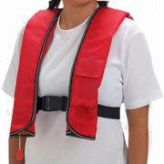 Inflatable Life Vest from China (mainland)