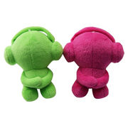 Mini Babies' Plush Toy Bluetooth Speakers from China (mainland)
