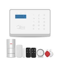 China Easy operation WIFI GSM alarm system with sim card for home security