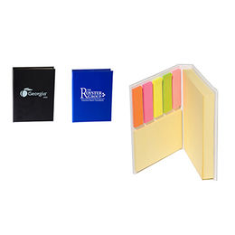 Stick Notepads with 20 Sheets, Made of Recycled Paper Cover