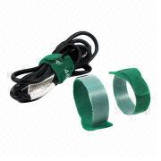 Green velcro cable tie from China (mainland)