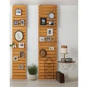 Wooden shelving, K/D