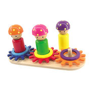 2014 new kid's popular cute mini children's hot sale colorful wooden brain toy from China (mainland)