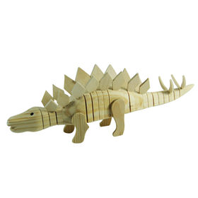 2014 new stegosaurus style kid's toy paint from China (mainland)