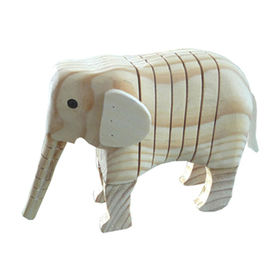 2014 new kid's wooden animal painting toys Manufacturer