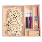 2014 new kid's wooden popular DIY children's puzz from China (mainland)