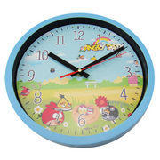 China Promotional Wall Clock with Cartoon Design, Customized Dial is Accepted