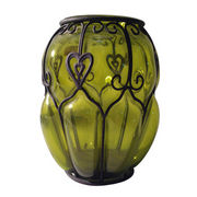 Glass vase from Philippines
