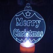 Christmas Ball LED Candle from China (mainland)