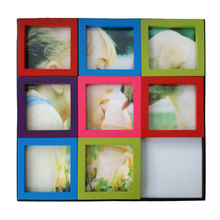 China Colorful jigsaw puzzle collage photo frame