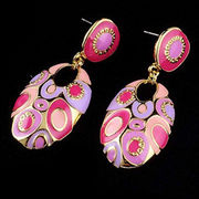 Fashionable Enamel Stud Earring from China (mainland)