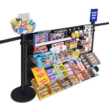FITS EXISTING BARRIERS Queue Merchandizing Panel Manufacturer
