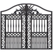 Aluminum patio garden gate from China (mainland)