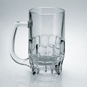 Clear beer glass mug from China (mainland)