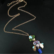 China New design gold necklace