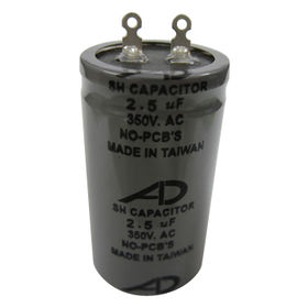 Round Style Capacitor from Taiwan