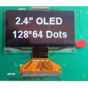 2.4- Inch OLED Display Module with White Color, Wide Viewing Angle and Wide Temperature Range