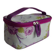 Cosmetic makeup bag, made of PVC leather from Fuzhou Oceanal Star Bags Co. Ltd