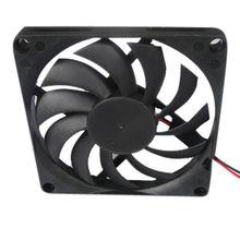 80*80*10mm 12V DC Axial fan Manufacturer