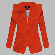 New Arrival Women's Fashionable Coats Suit Collar from China (mainland)