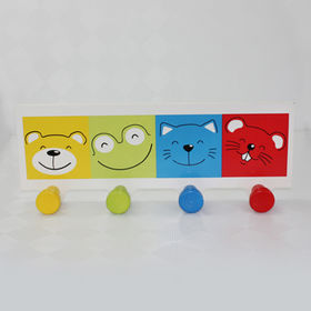 Hot Selling Cute Wooden Coat Hooks from China (mainland)