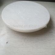 china white marble lazy susan rotating tray