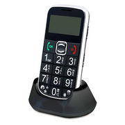 China GSM Phone with Flashlight, SOS Emergency Button and Memo Functions