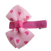 Printed Grosgrain Ribbon Hair Clips from China (mainland)