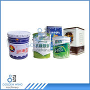 china liters 15 gallon paint tin can making machine production line