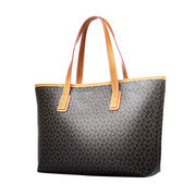 Ladies PU handbags, star love on a grade with shiny surface, it is waterproof and durable