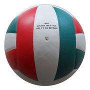 18-panel PU Laminated Volleyball from China (mainland)