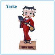 Cheap Promotional Item Japanese Geisha Betty Boop Resin Statue ...