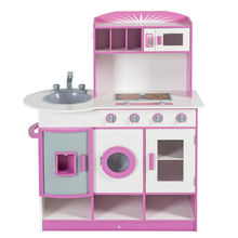 Lovely and Cute Wooden Kitchen Set Manufacturer